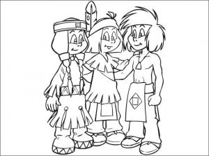 Coloring page yakari to download