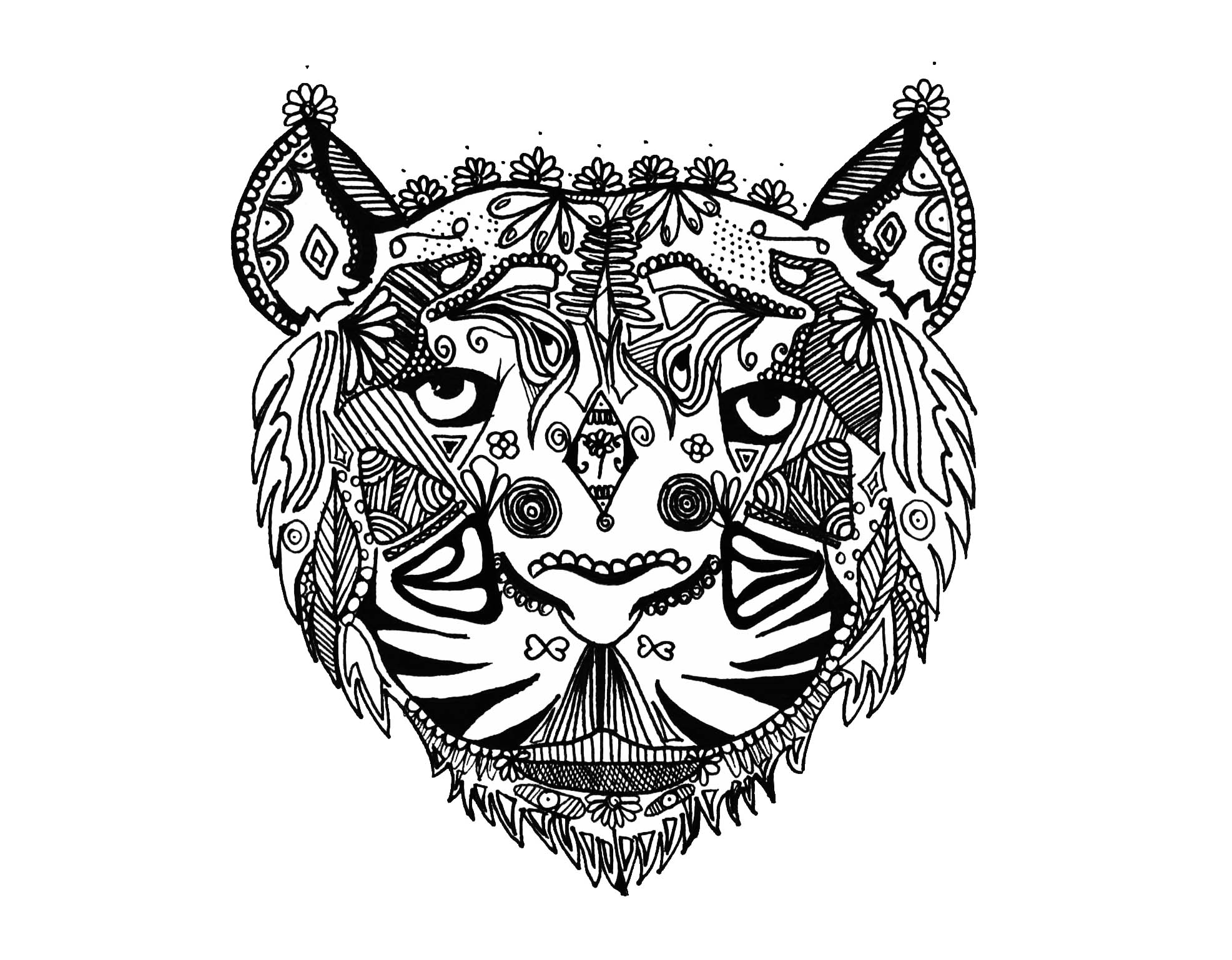 Zentangle to download for free - Zentangle Kids Coloring Pages