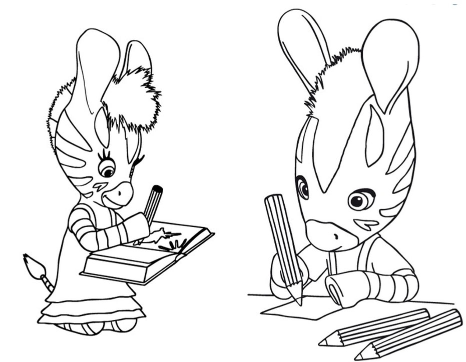 Zou To Print Zou Kids Coloring Pages