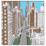 New York Coloring Pages for Adults