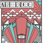 Art deco coloring pages for adults