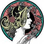 Art nouveau Coloring Pages for Adults