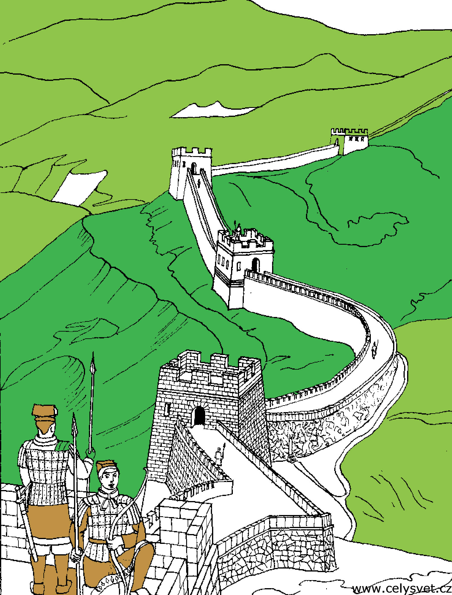 china u0026 asia coloring pages for adults justcolor