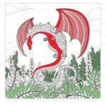 Myths & legends Coloring Pages for Adults