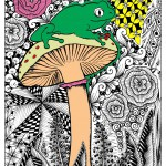 Jungle & Forest Coloring Pages for Adults