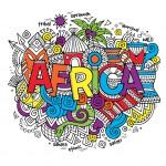 Africa Coloring Pages for Adults