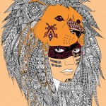 Native Americans Coloring Pages for Adults