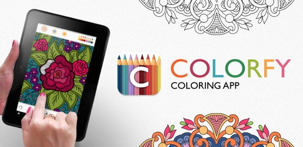 Discover Colorfy An App For Coloring Book Ipad Tablets