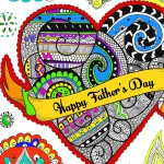 Celebrations Coloring Pages for Adults
