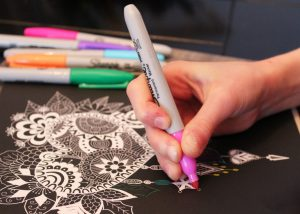 In Your Opinion Coloring Is Much More Than An Art First Of All It Allows To Relax Decompress For Example After A Day Work