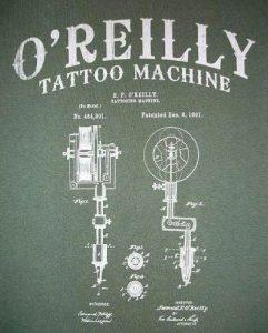 Tattoo Machine by Samuel O'Reilly