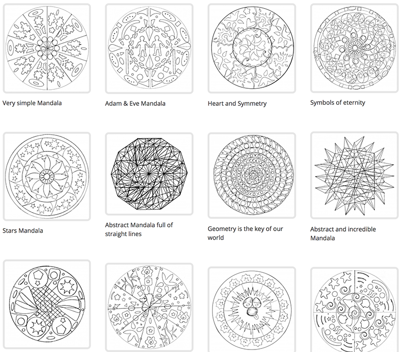 New Mandalas added just for you !