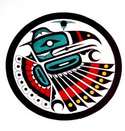 Kwakiutl Bear Spirit Mask Native American Art Coloring
