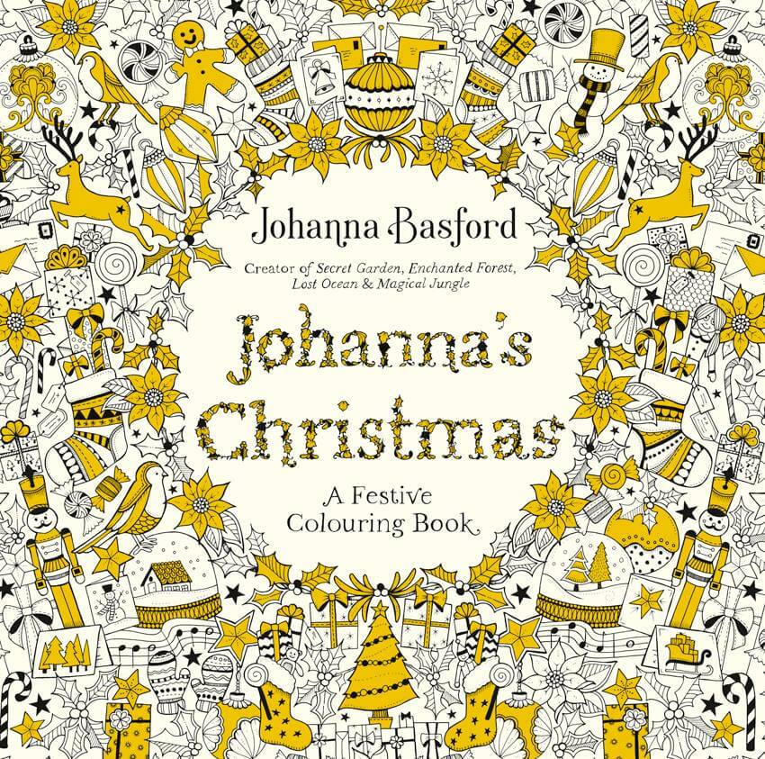 - Johanna's Christmas, By Johanna Brasford - Coloring Pages For Adults