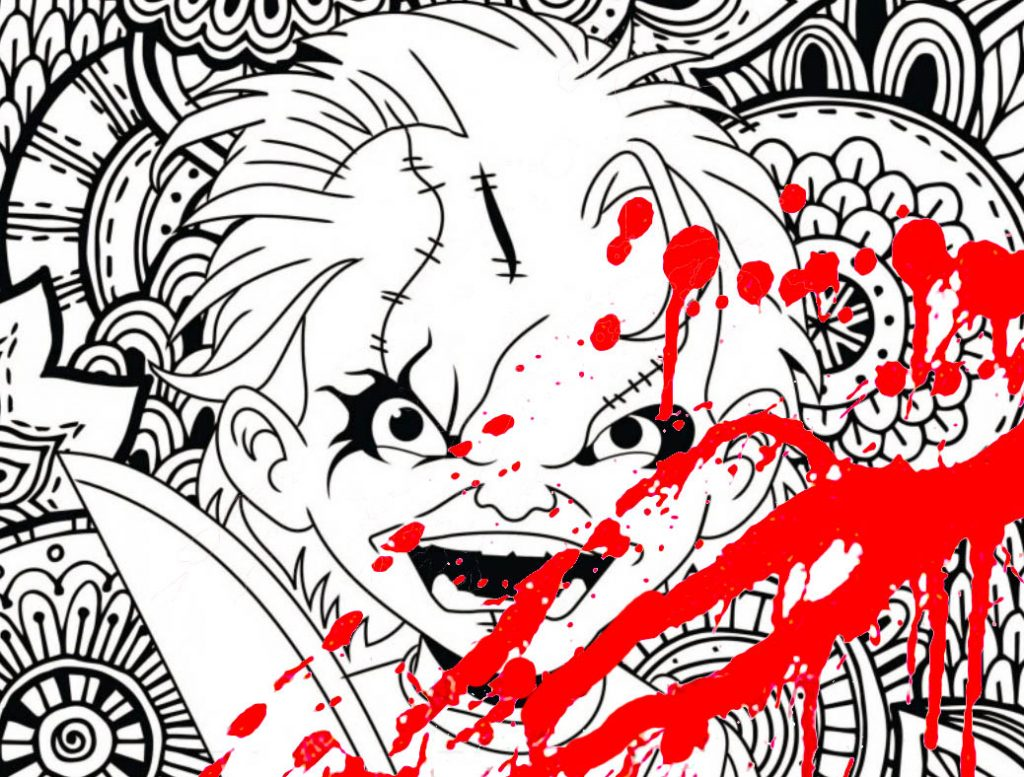 New Classic Horror Movie Coloring Pages Coloring Pages For Adults