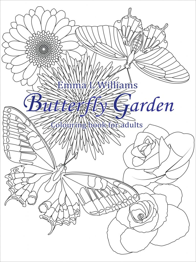 Butterfly Garden A Coloring Book For Nature Lovers