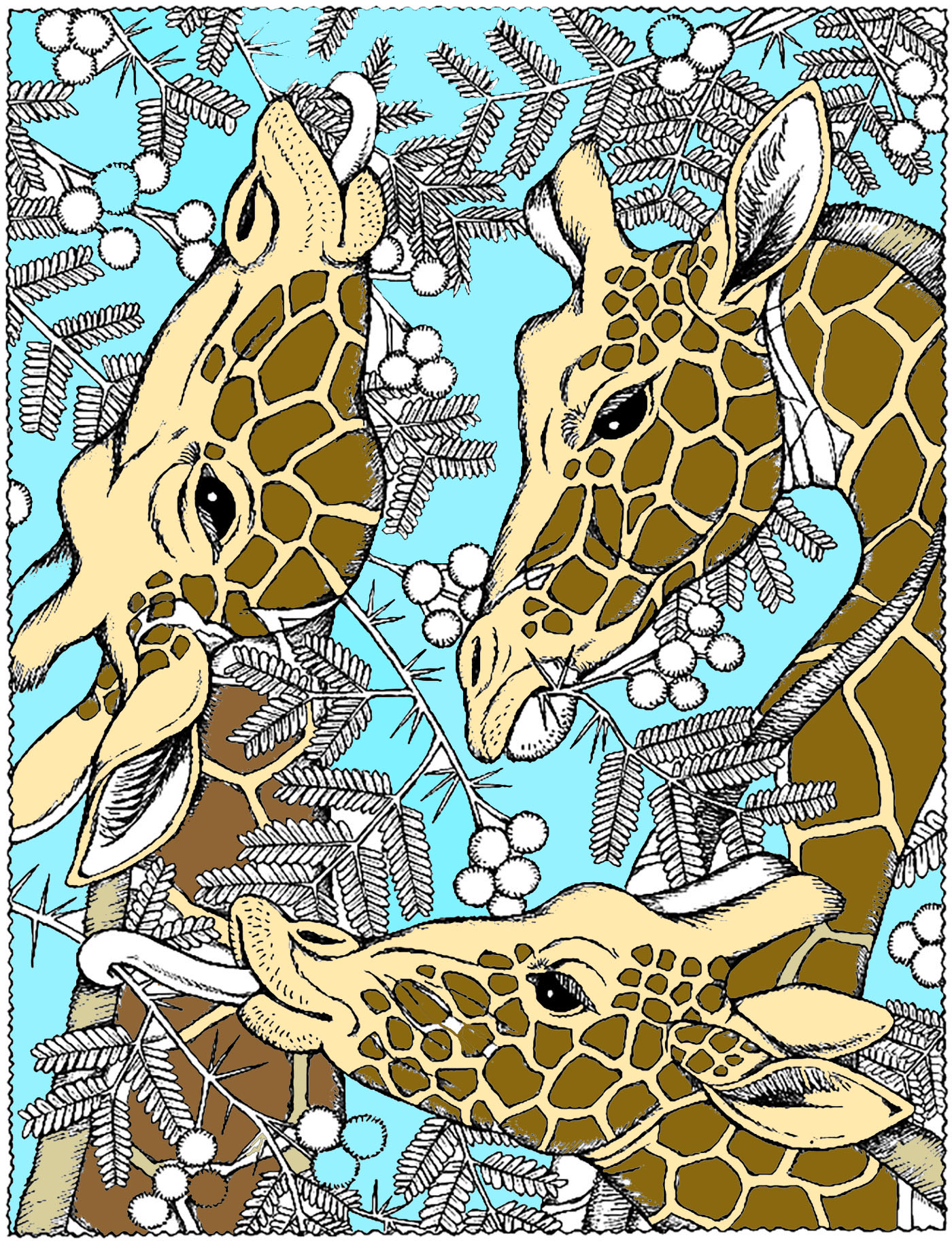Embark On An Incredible Safari New Animal Coloring Pages Galleries
