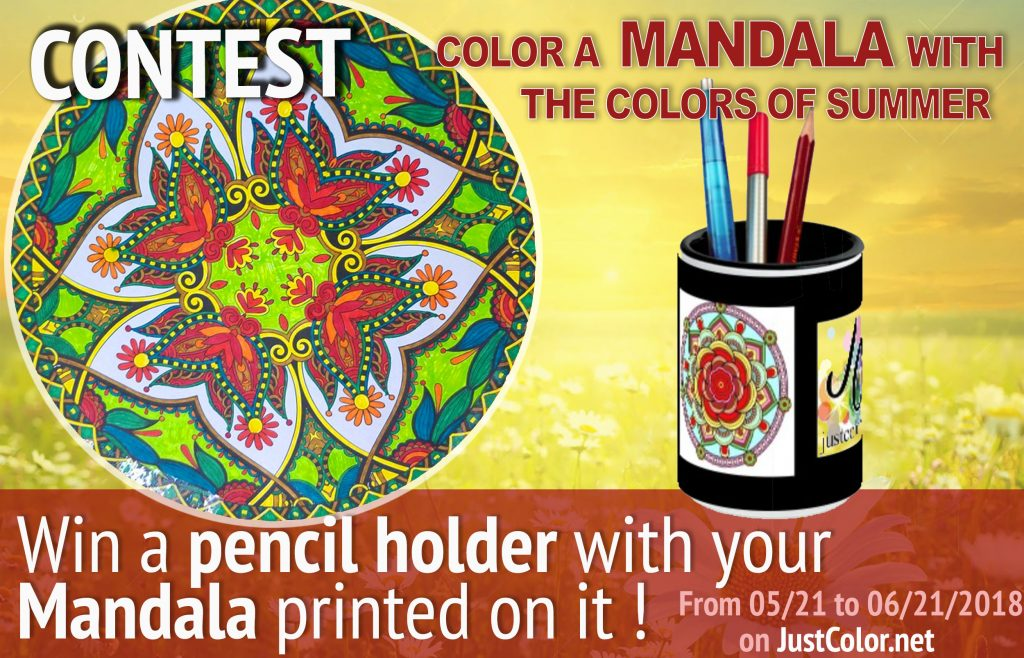 Contests Archives - Just Color : Coloring Pages for Adults
