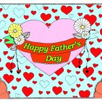 Father's Day coloring pages for adults