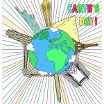 Earth Day Coloring Pages for Adults