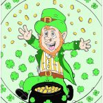 St. Patrick's Day Coloring Pages for Adults