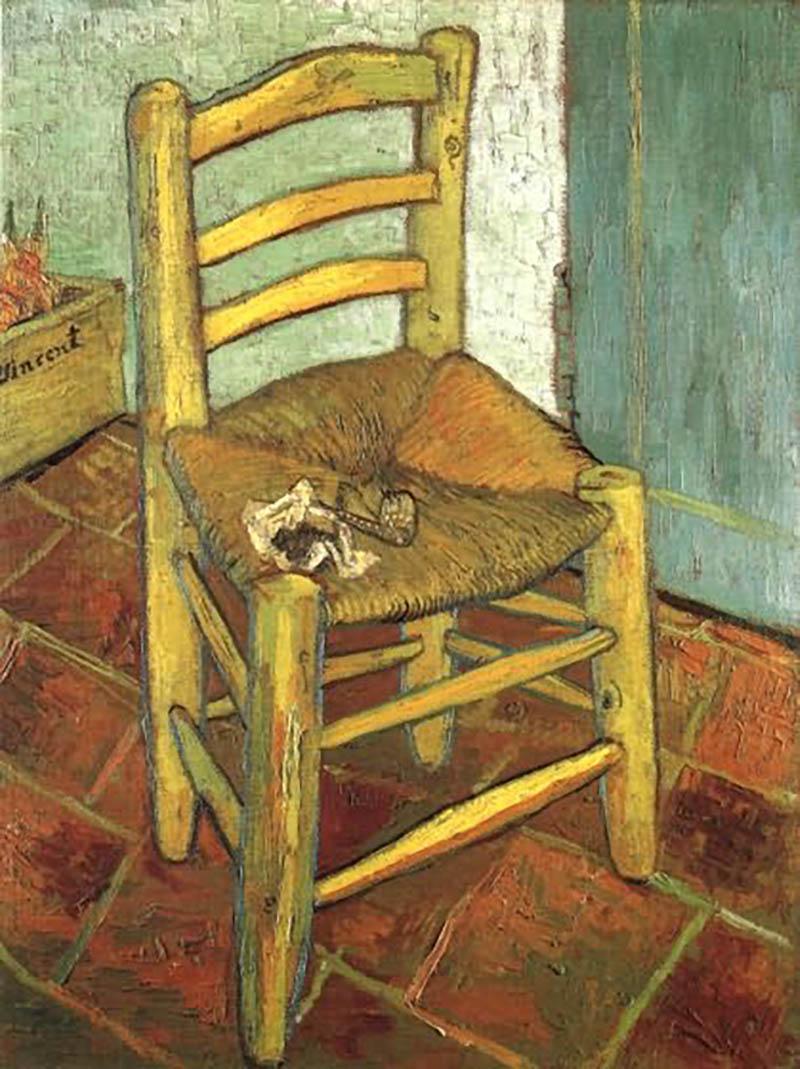 Van Gogh La Chaise Et La Pipe Chefs D Uvres