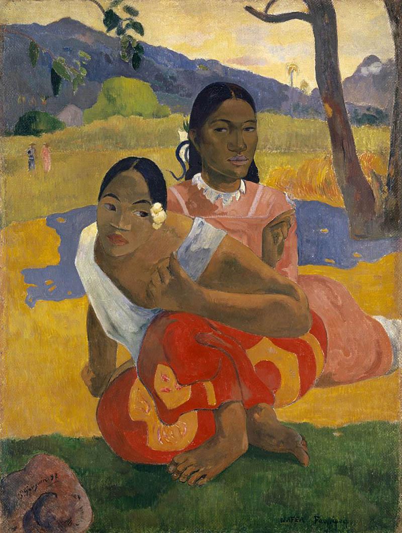 Gauguin Femme Tahitienne