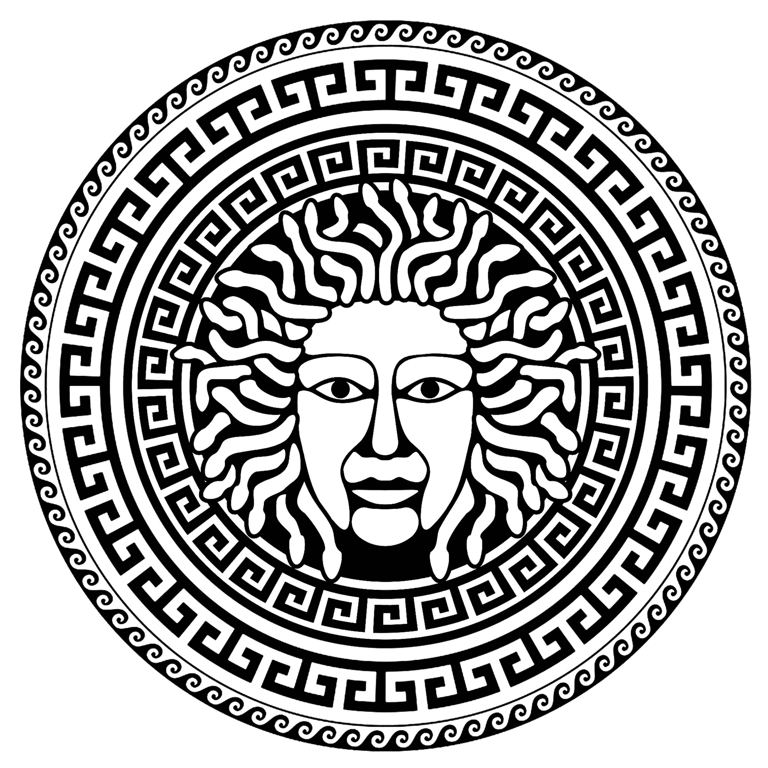 Medusa greek circle 2 Ancient