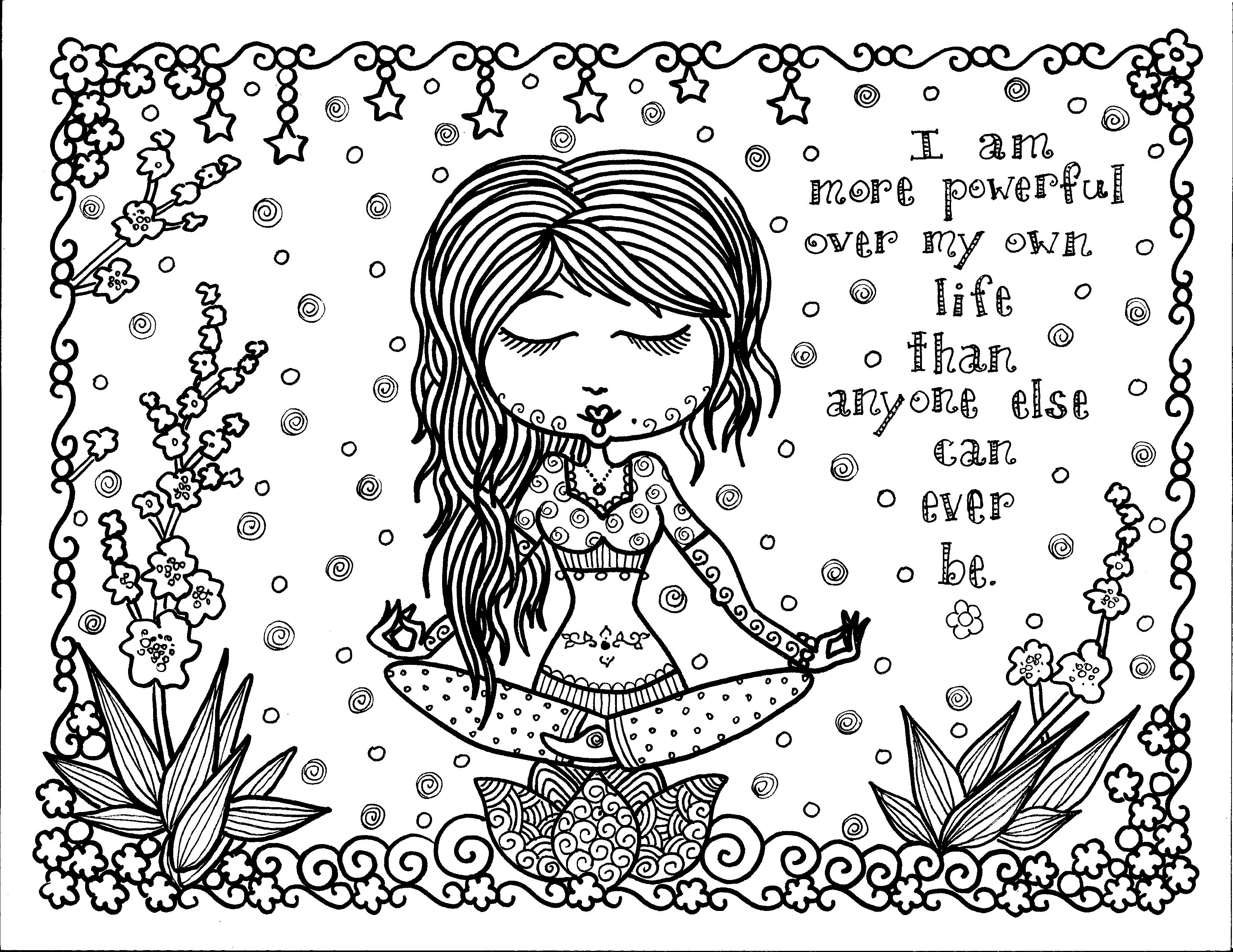 Coloring pages zen