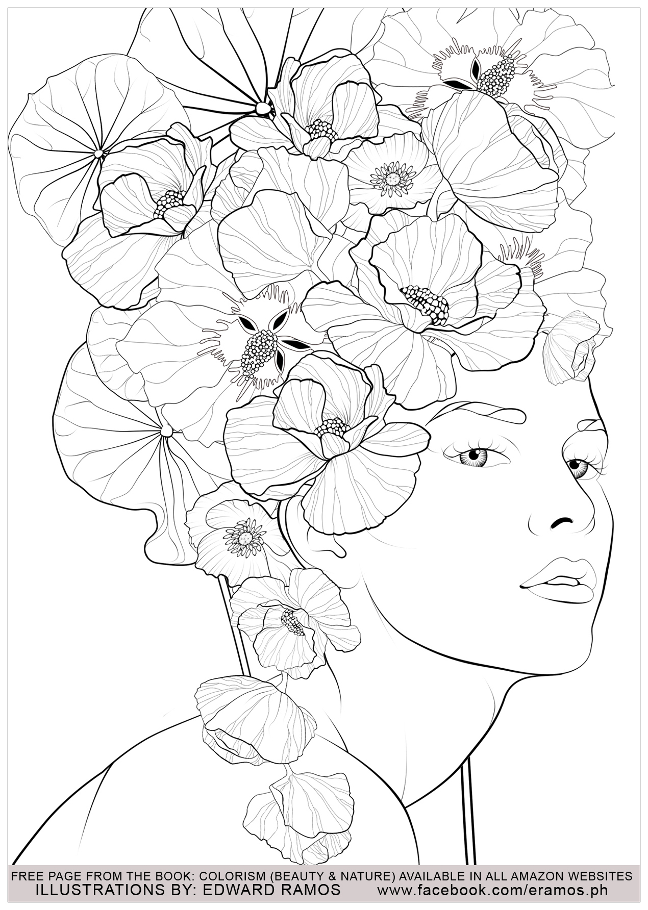 Coloring pictures of nature - Illustration From The Book Colorism Beauty Nature By Edward Ramos 3 Image