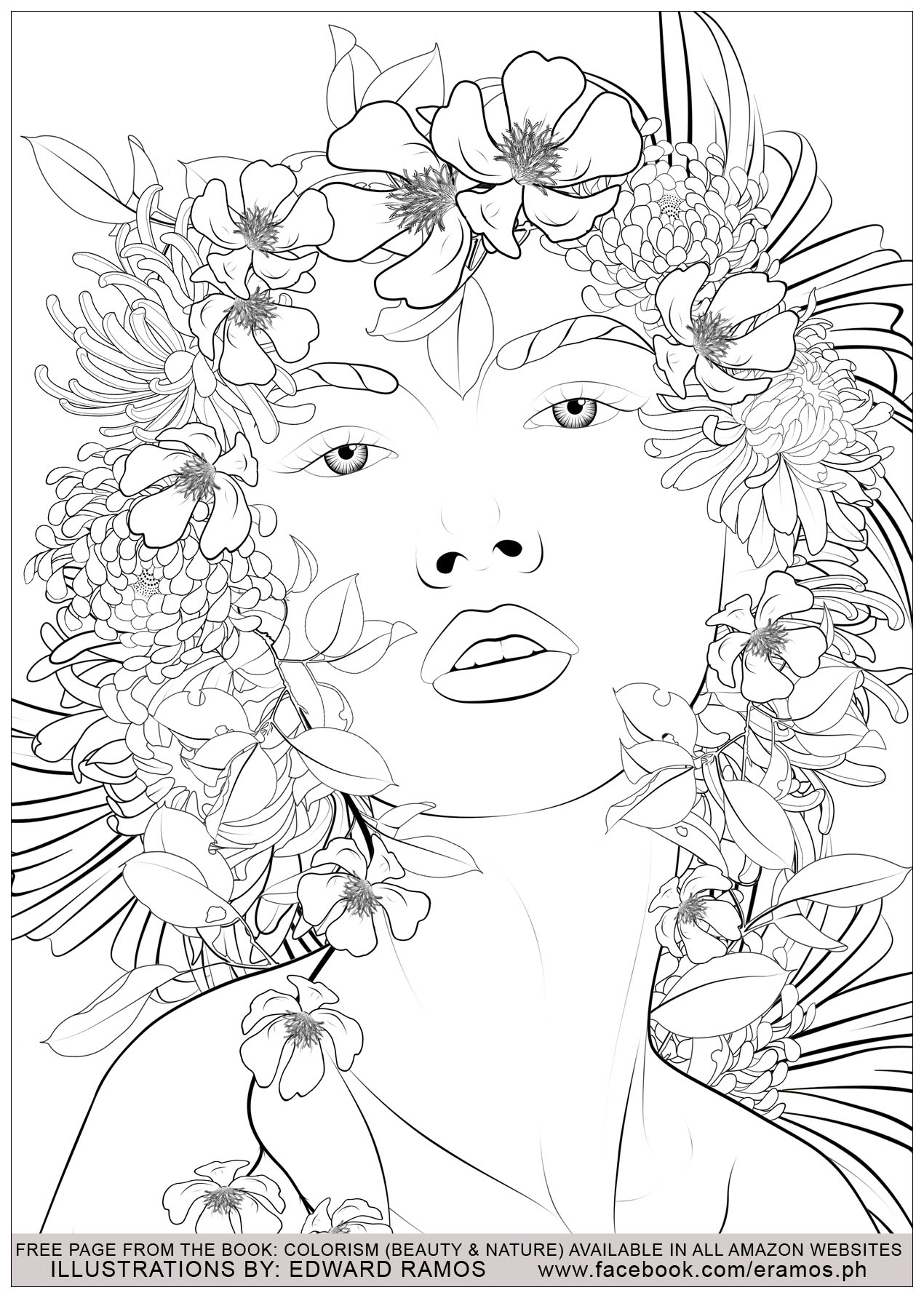 Illustration from the book Colorism - Beauty & Nature by Edward Ramos - 6