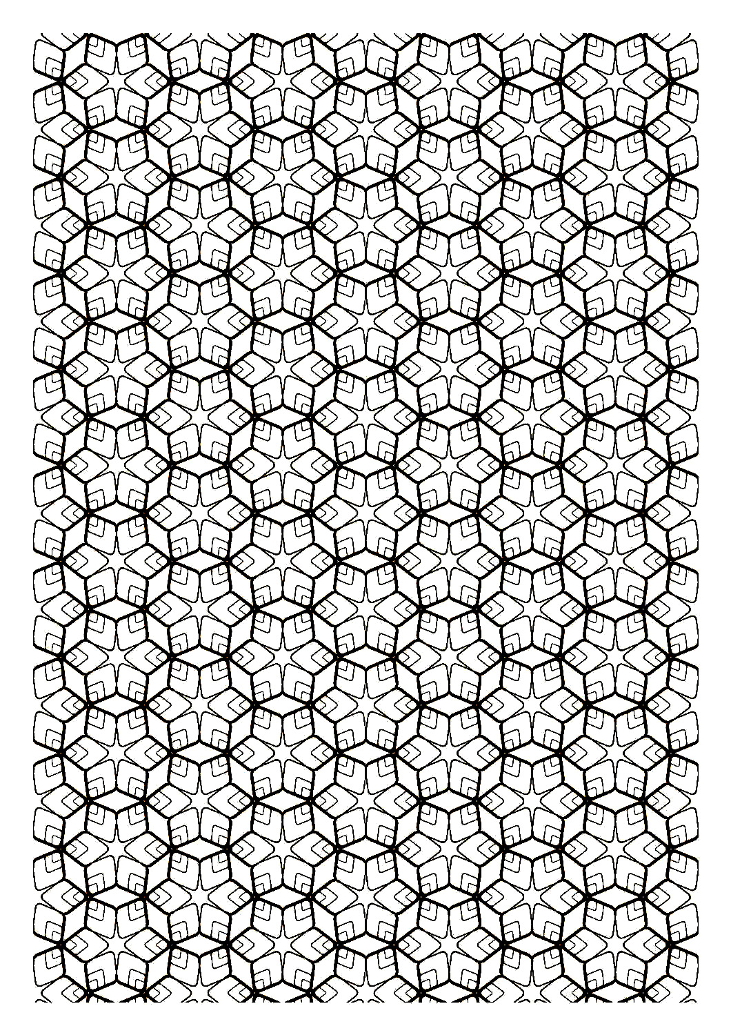 difficult zen symmetry zen and anti stress coloring pages for