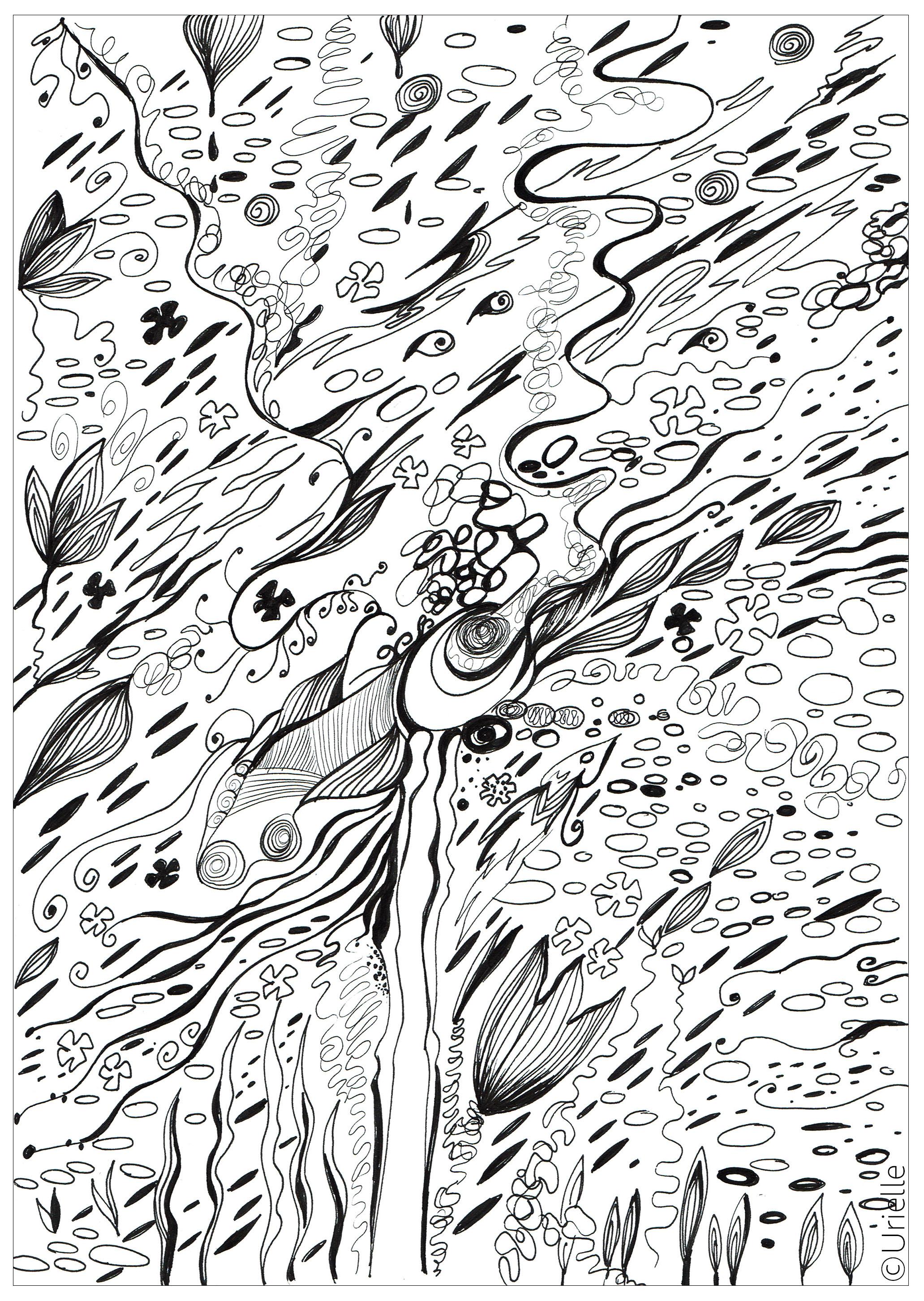 FlowFrom the gallery : Zen & Anti StressArtist : Urielle