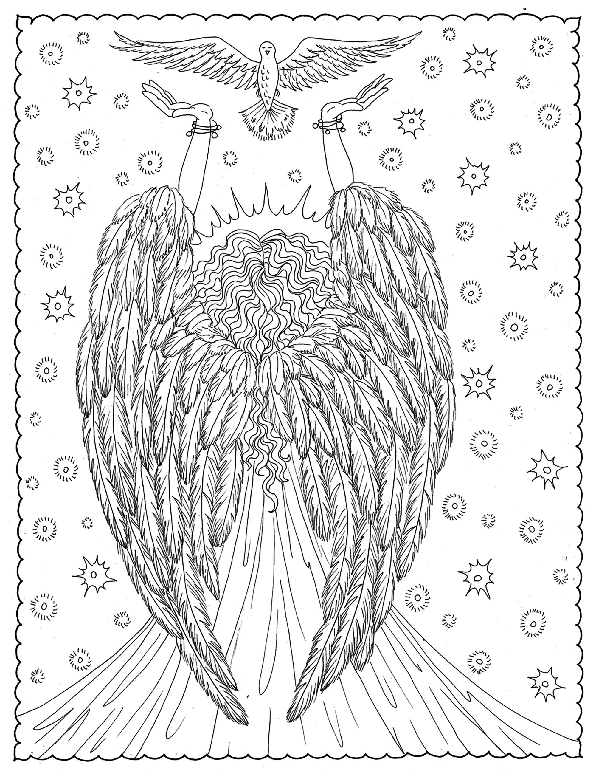 Angel of libertyFrom the gallery : Zen & Anti StressArtist : Deborah Muller