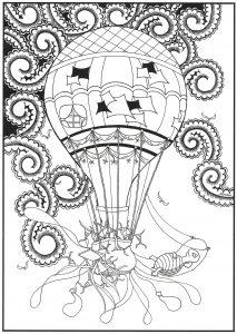 Coloring balloon Mimieve