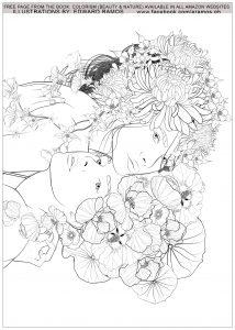 Coloring beauty and nature edward ramos 4