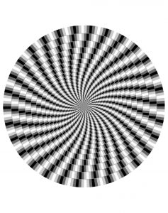 Coloring difficult optical illusion 1
