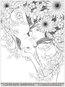 Coloring Beauty And Nature Edward Ramos 1