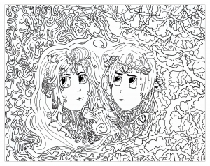 coloring-gemini-for-chloe02 free to print