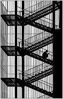 coloring-adult-stairs free to print