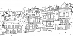 Painted Ladies, San Fransisco