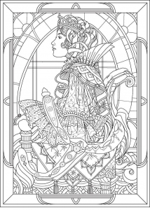 Art Nouveau - Coloring Pages for Adults