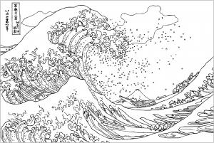 Hokusai : The Great Wave off Kanagawa