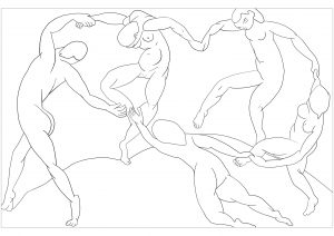 Henri Matisse : The Dance