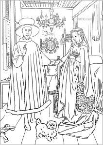 Jan Van Eyck : The Arnolfini Portrait