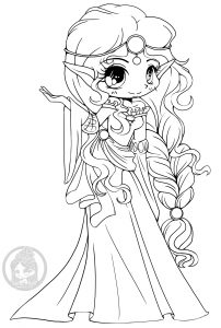 Scottish elf princess