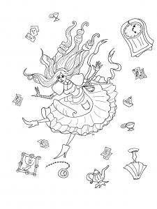 coloring-alice-in-wonderland-with-objects-by-olivier