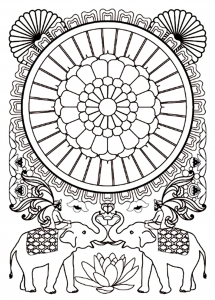 India Bollywood Coloring Pages For Adults Justcolor Page 2 - coloring pages for mental health