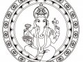 Ganesh the god of wisdom