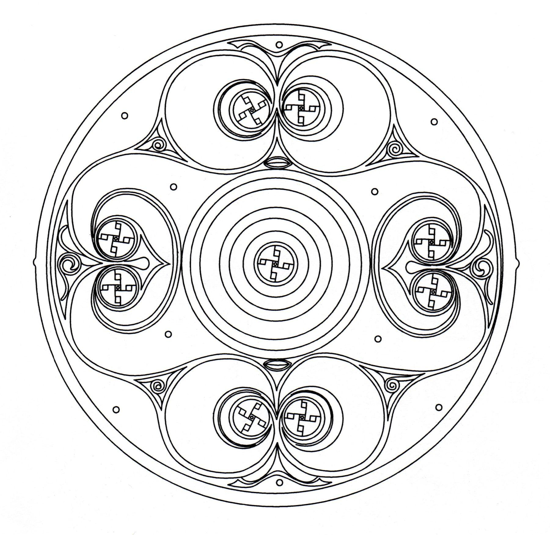 Celtic art looking like a Mandala